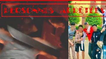 3 مشرملين جابو الربحة بعدما بانو فـ فيديو هازين جناوة وسط مكناس – تصويرة