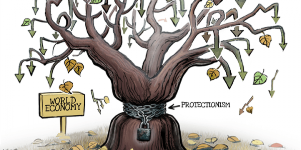 علم الإقتصاد كايبين لينا بلي عمر الحمائية ماكاتكون مزيانا للاقتصاد وللبلاد وخا تكون مؤقتة