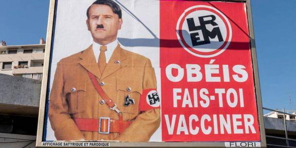 ماكرون دعا واحد دار ليه پوسطيرات فـ الصفة ديال هتلر – تغريدة وتصويرة