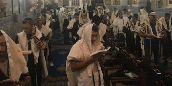صلاة العزامة.. استئناف العلاقات مع اسرائيل عمرات معبد يهودي فمراكش – تدوينة
