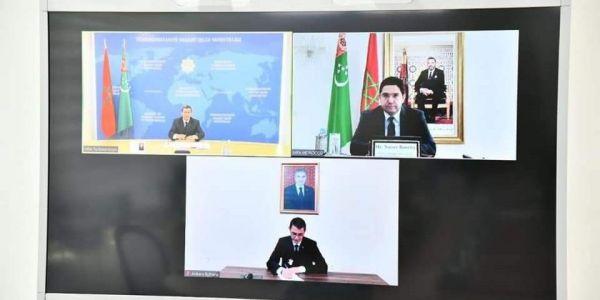 تركمنستان: كاندعمو مبادرة الحكم الذاتي المغربية و الأمم المتحدة خاصها تضوبل مجهوداتها لحل ملف الصحرا
