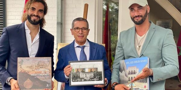 تألقوا فـ هوليوود.. السفير عامر دار تكريم خاص للمخرجين البلجيكيين-مغاربة فلاح و العربي