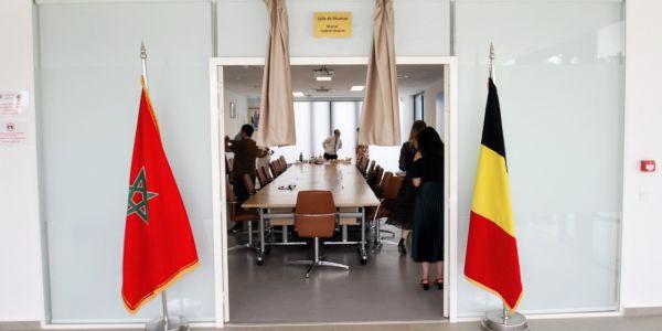 سفارة بلجيكا فـ الرباط دارت تكريم لسفيرها اللي مات ف محاولة انقلاب 1971