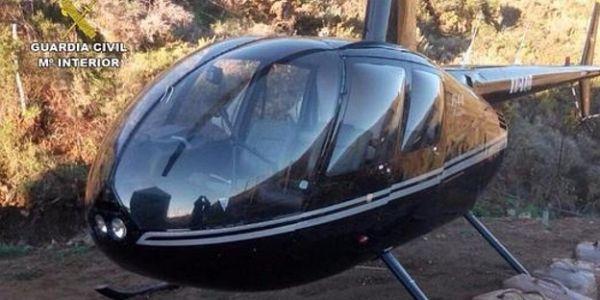 """بعد حجز درون طولو فايت 4 مترو. """"لاكوارديا سيبيل"""" لقاو هليكوبتر محملة بـ 200 كيلو ديال الحشيش"""