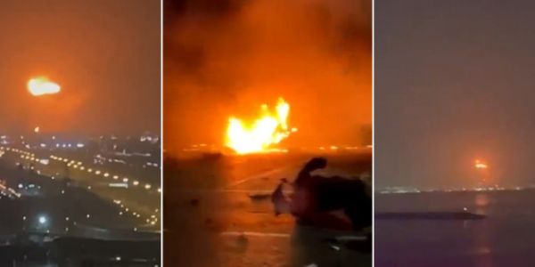 انفجار فالامارات وها التفاصيل – فيديو