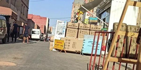 سطات.. مستشار بامي رجع شارع بأولاد أمراح ملك خاص – تصاور