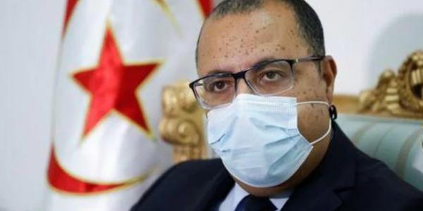 رئيس الحكومة التونسية جرا على وزير الصحة