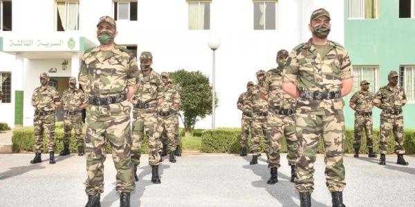 العسكر غيلبسو لبسة قتالية جديدة ابتداء من 15 يوليوز