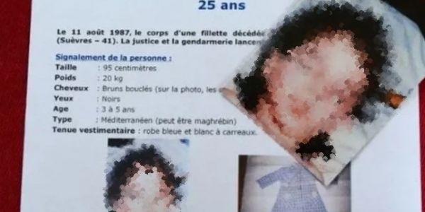 """فرنسا : اختبار """"ADN"""" كشف جريمة قتل عندها 35 عام. الضحية درية عندها 4 سنين  والديها لي من أصل مغربي"""