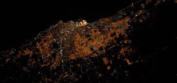 رائد فضاء فرنسي بارطاجا صورة لكازا فالليل من الفضاء: أضواءها هوما أول حاجة شفت فرحلتي فوق المحيط الاطلسي