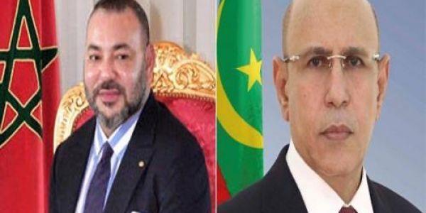 العلاقات المغربية الموريتانية القوية.. الرئيس الموريتاني أول رئيس رسل تهنئة للملك