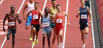 أولمبياد طوكيو.. عبد العاطي الكص ونبيل أسامة تأهلو لدومي فينال سباق 800م
