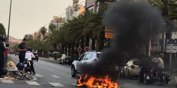انفجار فـ مراكش خلع بهجاوا هاد الصباح.. هاشنو وقع – تصاور