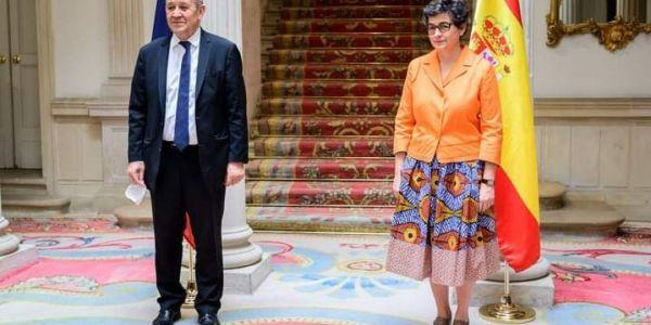 وزير الخارجية الفرنسي: المغرب و الصبليون قادرين يصلحو الأمور بيناتهم بالحوار ويفوتو هاد الفترة الصعيبة