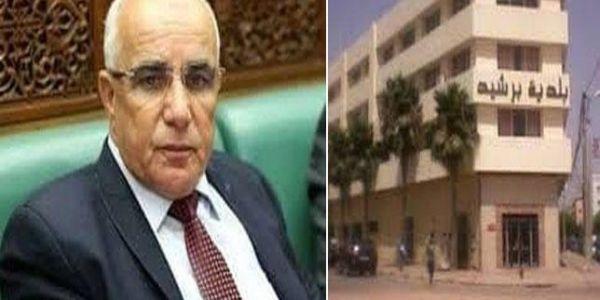 مرشح التراكتور فبرشيد هربو ليه المرشحين دار عائلتو