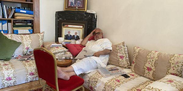 """قصة صورة """"كود"""" لبنكيران. تشدات يوم التصويت وفدارو بعد ما دار عملية بسيطة"""