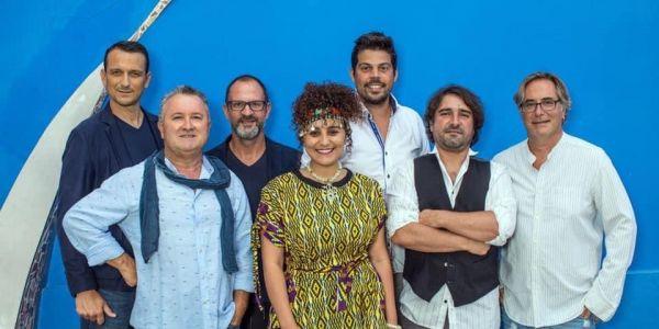سكينة فحصي فمهرجان موسيقي كبير فالبرتغال