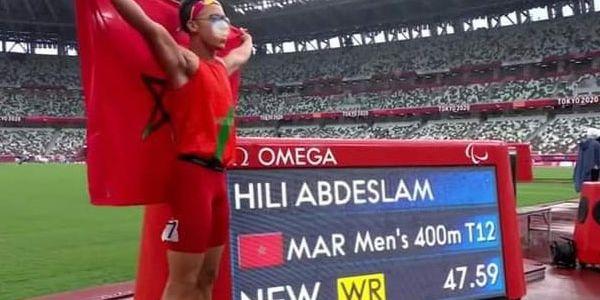 الألعاب البارالمبية.. العداء عبد السلام حيلي جاب أول ميدالية ذهبية للمغرب