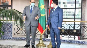بوريطة استقبل اسماعيل ولد الشيخ أحمد ومقر جديد للسفارة الموريتانية غادي يتبنى فالرباط