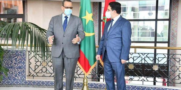بوريطة استقبل اسماعيل ولد الشيخ أحمد ومقر جديد للسفارة الموريتانية غادي يتبنى فـ الرباط