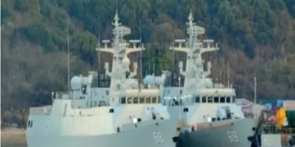 الجزائر شرات 6 سفن حربية من الشينوا