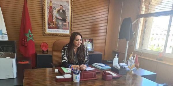 ارميلي بدات الخدمة فـ مهمتها الجديدة.. عمدة كازا دشنات اجتماعاتها بهاد المشروع – تصاور