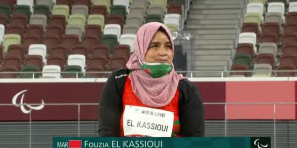 فضية ثالثة جابتها للمغرب البطلة فوزية القسيوي.. وصلنا لـ6 ميداليات فالالعاب البارالمبية
