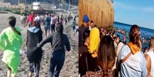 التلفزيون الاسباني: 100 مغربية حرگات لسبتة ف ماي الفايت ورافضات يرجعو للمغرب