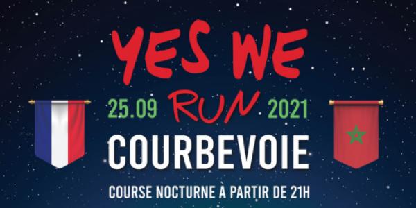 """فرنسا.. النسخة الثالثة من السباق السنوي """"ييس وي ران"""" بكوربفوا محتافلة بالمغرب"""