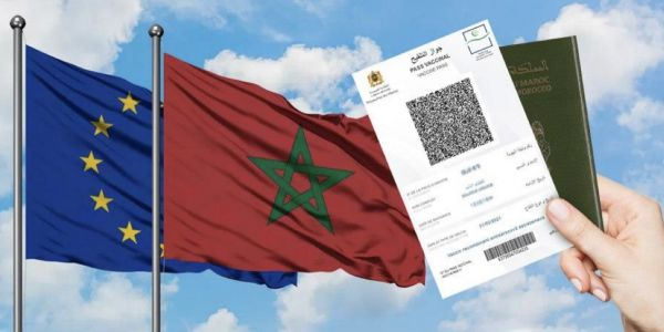 """البلاد العربي الوحيد.. الاتحاد الأوروبي قرر يقبل الپاس ڤاكسينال والتسيت """"بي سي ار"""" المغربي"""