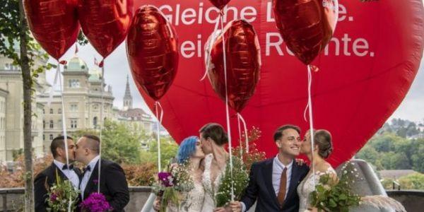 زواج المثليين: استفتاء شعبي للسماح به رسميا فسويسرا