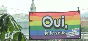 """الوعي فين وصل.. السويسريون صوتو بـ""""نعم"""" لزواج المثليين – فيديو"""