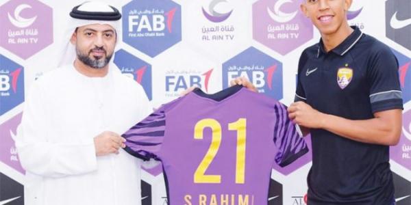 رحيمي أفضل لاعب في الدوري الإماراتي لهاد الشهر