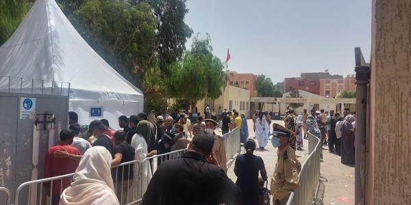 نسبة المشاركة فـ الانتخابات وصلات لـ36 فالمية والعملية مزال متواصلة