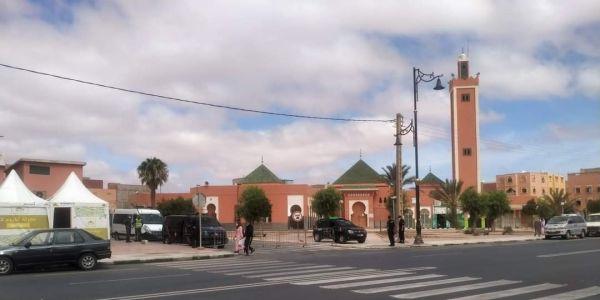 البوليس مطوق حدا الجامع اللي غادي يتصلى فيه على عبد الوهاب بلفقيه – تصويرة