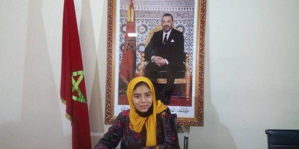 التلميذة المغربية سارة الضعيف وصيفة بطل تحدي القراءة العربي 2020