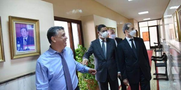 عبد النباوي والداكي زارو وزير العدل الجديد: بغينا نكثفو الجهود لخدمة العدالة فـبلادنا