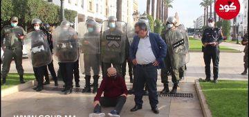 صحاب اليسار جاو قلال وتمنعو من الاحتجاج فاليوم العالمي للفقر – فيديو