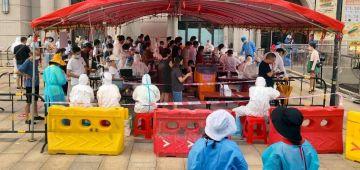 """عاجل. الصين سدات مدينة """"لانتشو"""" والحكومة طلبات من الناس تبقا فدارها بسبب انتشار كبير لفيروس كورونا"""