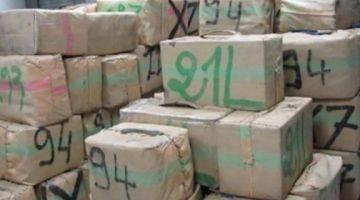 التهريب الدولي للمخدرات.. البوليس و بتنسيق مع الديستي والجدارمية حجزو أكثر من طن ديال الحشيش نواحي الراشيدية