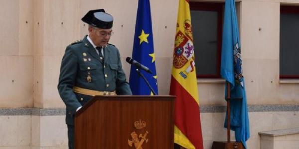 """قائد """"لاگوارديا سيبيل"""" ف مليلية شكر البوليس والجدرامية والمخازنية المغاربة على المجهودات ديالهم ف محاربة الحريگ"""