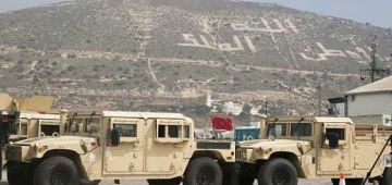 القوات المسلحة الملكية تلقات عتاد وسلاع عسكري من الجيش المريكاني