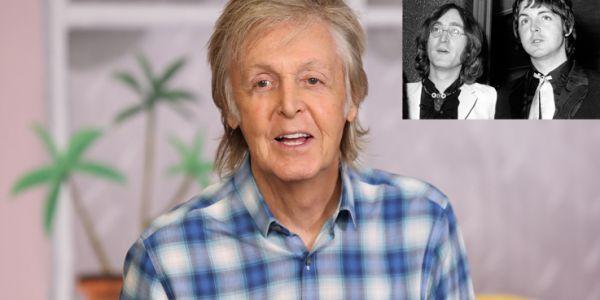 """پول مكارتني: جون لينون هو المسؤول على تشتيت كَروب """"البيتلز"""" – فيديو"""