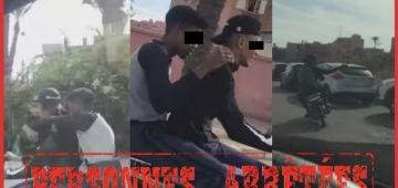 فضحهوم فيديو دار ضجة فـ مراكش.. البوليس شدو جوج شفارة – تصويرة