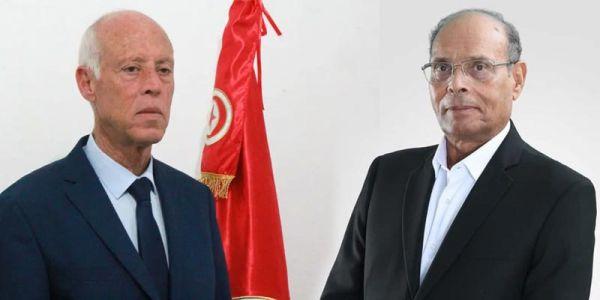 رئيس تونس قيس سعيد سحب الپاسپور الدبلوماسي من الرئيس السابق منصف المرزوقي