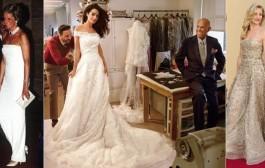 وفاة مصمم الأزياء العالمي أوسكار دى لارنتا. آخر ما صممه فستان زواج أمل علم الدين من كلوني (صور)