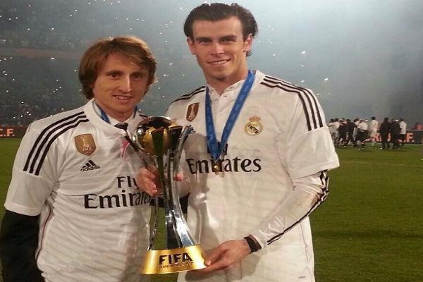 هكذا احتفل بيل في مراكش بكأس العالم للأندية مع زميله مودريتش