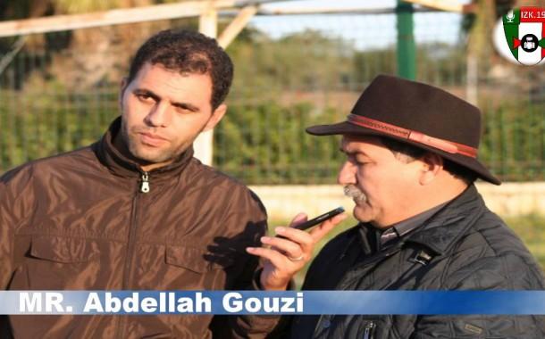 حارس لخميسات يتسبب في كسر برجل الناطق الرسمي للنادي الصحافي عبد الله الكوزي