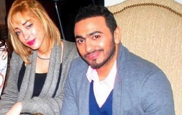 جمهور تامر حسني كيسلخ في المغربية بسمة بوسيل (صورة)