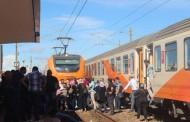 السكك الحديدية: عمل إجرامي وراء إلحاق عطب بالقطار المكوكي والسائق حال دون وقوع كارثة